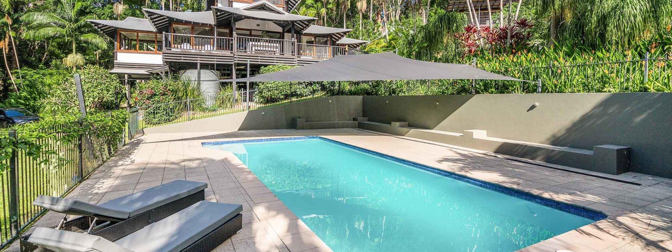 Ourmuli - Byron Bay - House and Pool b