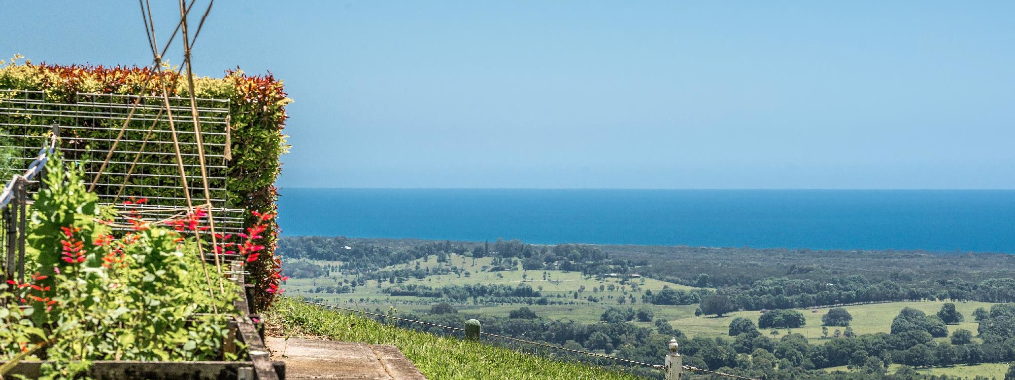 Pacific Ridge - Byron Bay - Veggie Garden with a View