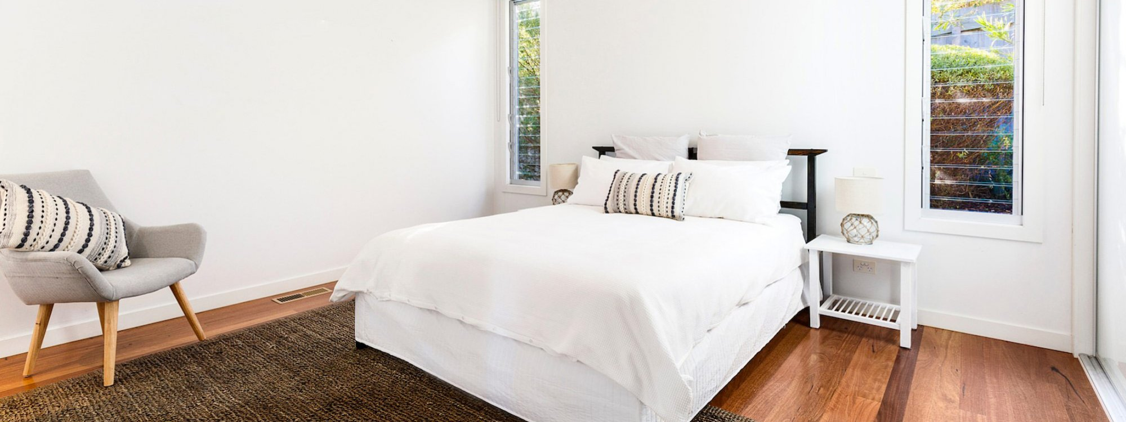 Queen Adelaide - Blairgowrie - Master Bedroom