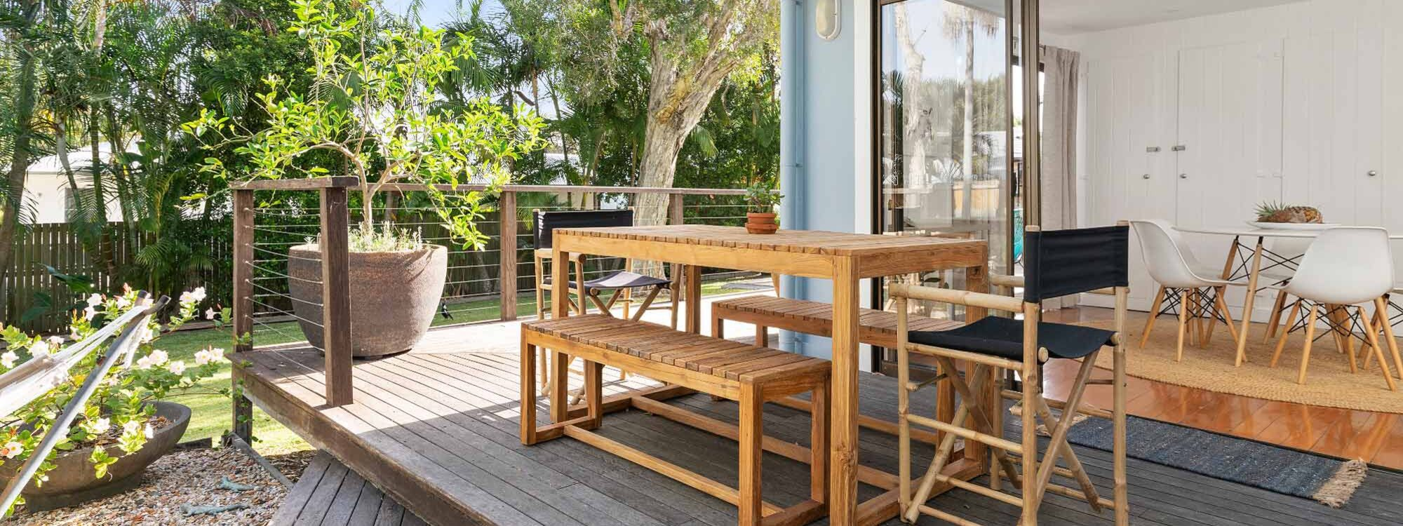 San Juan - Byron Bay - Outdoor Dining Area