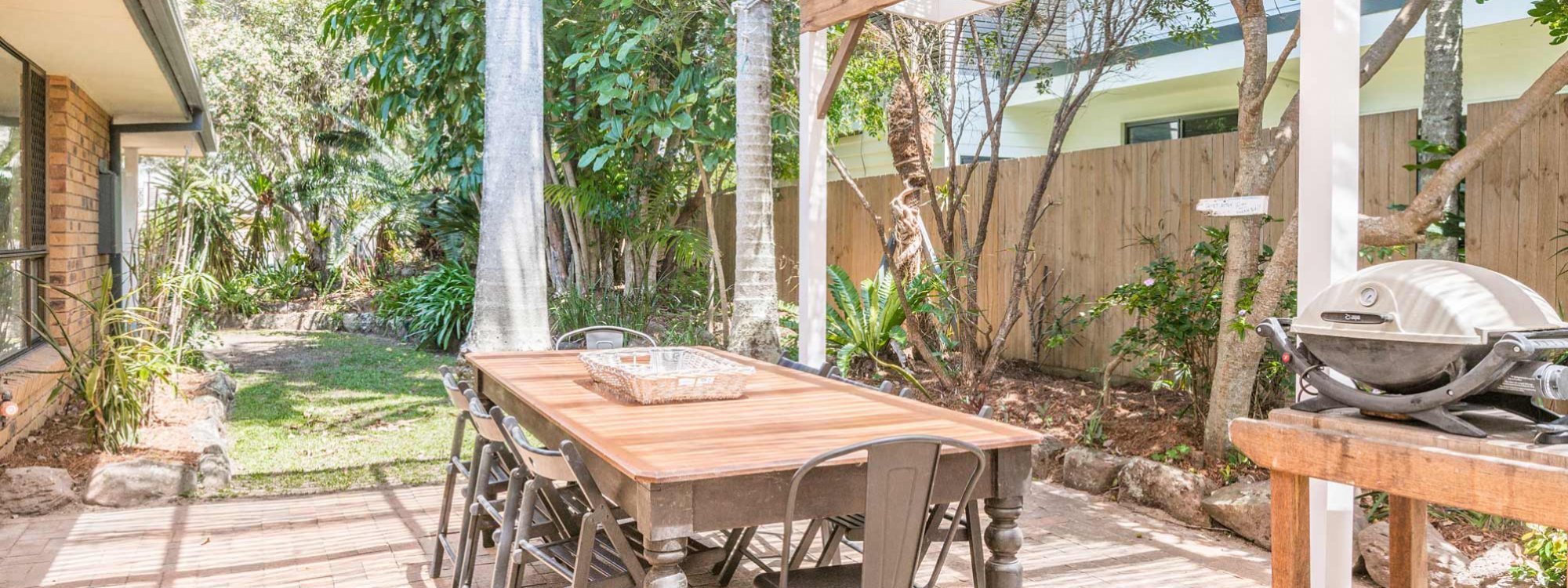 Sea Salt - Byron Bay - Outdoor Entertaining Area a
