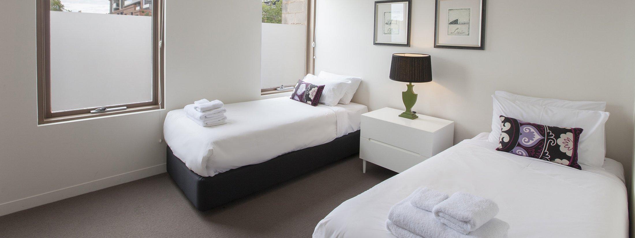 Somerset Terrace - Richmond - Twin Room