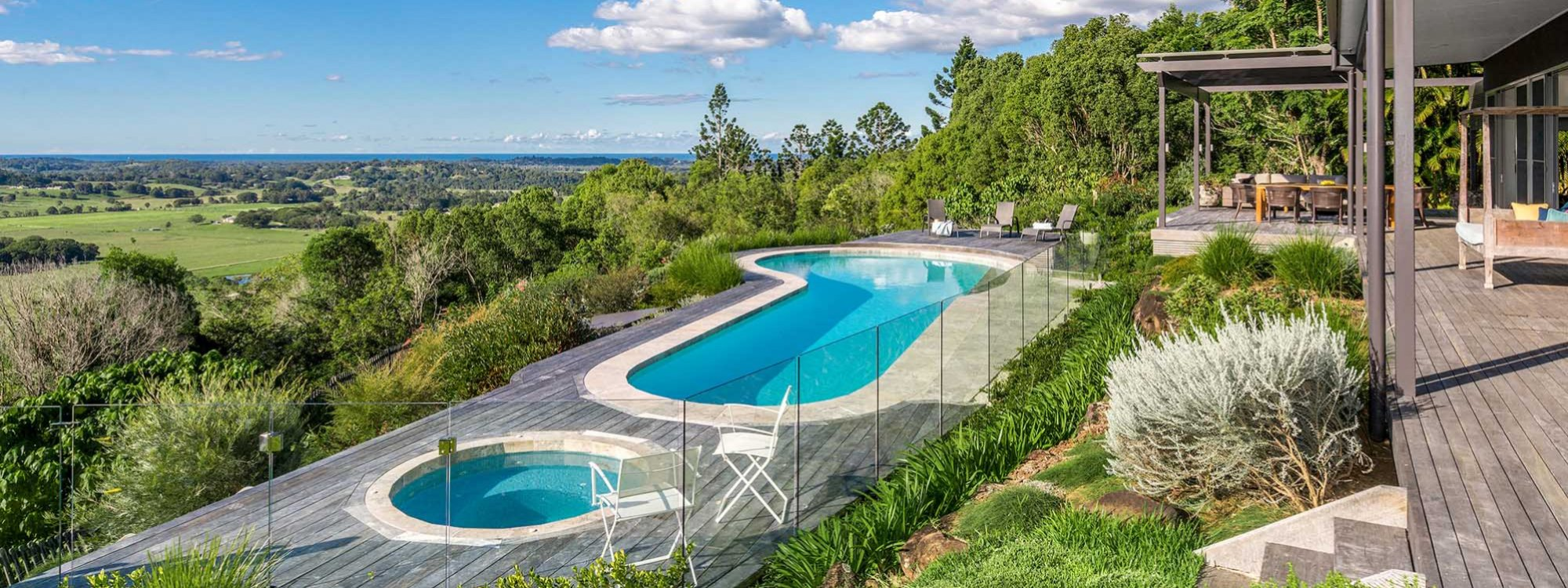 Summer Breeze - Byron Bay - Pool and Spa