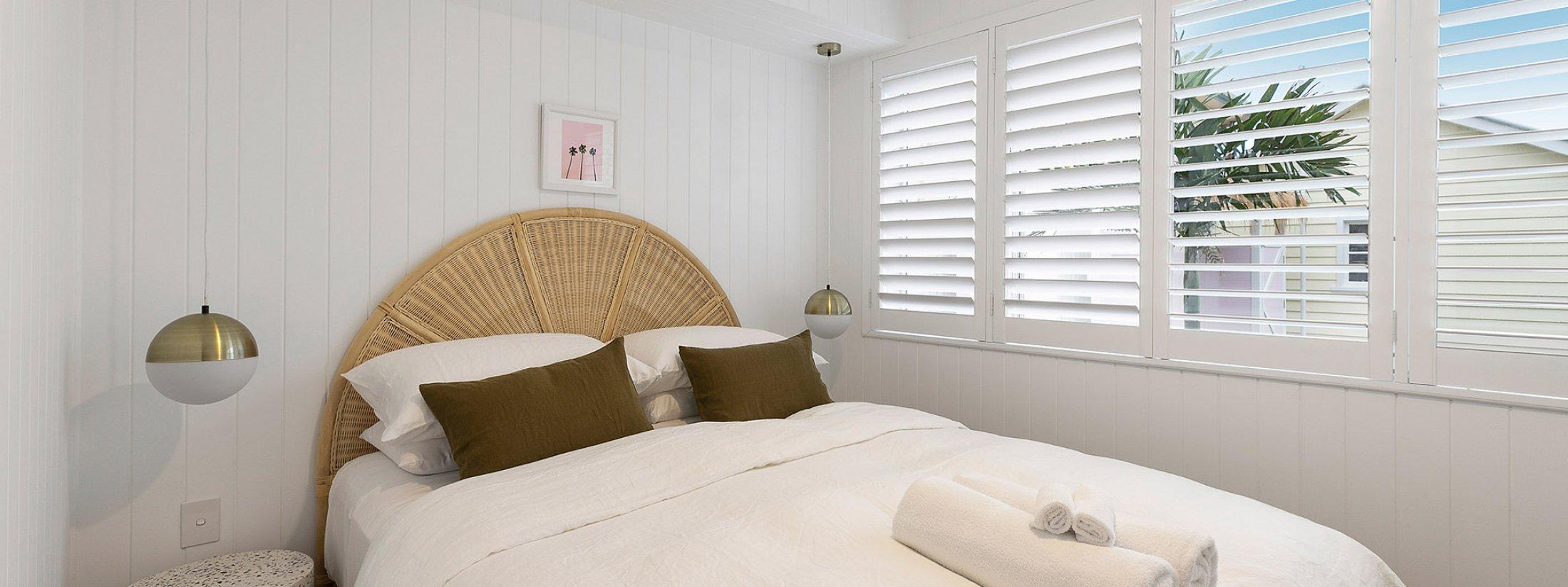 Sunset Beach - Riverside - Brunswick Heads - Queen Bedroom