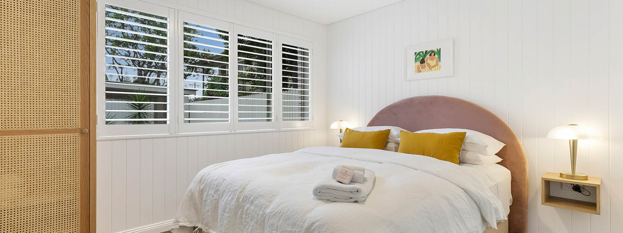 Sunset Beach - Riverside - Brunswick Heads - Queen Bedroom b