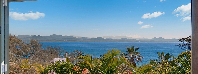 The Hawk - Wategos Byron Bay - View from Balcony