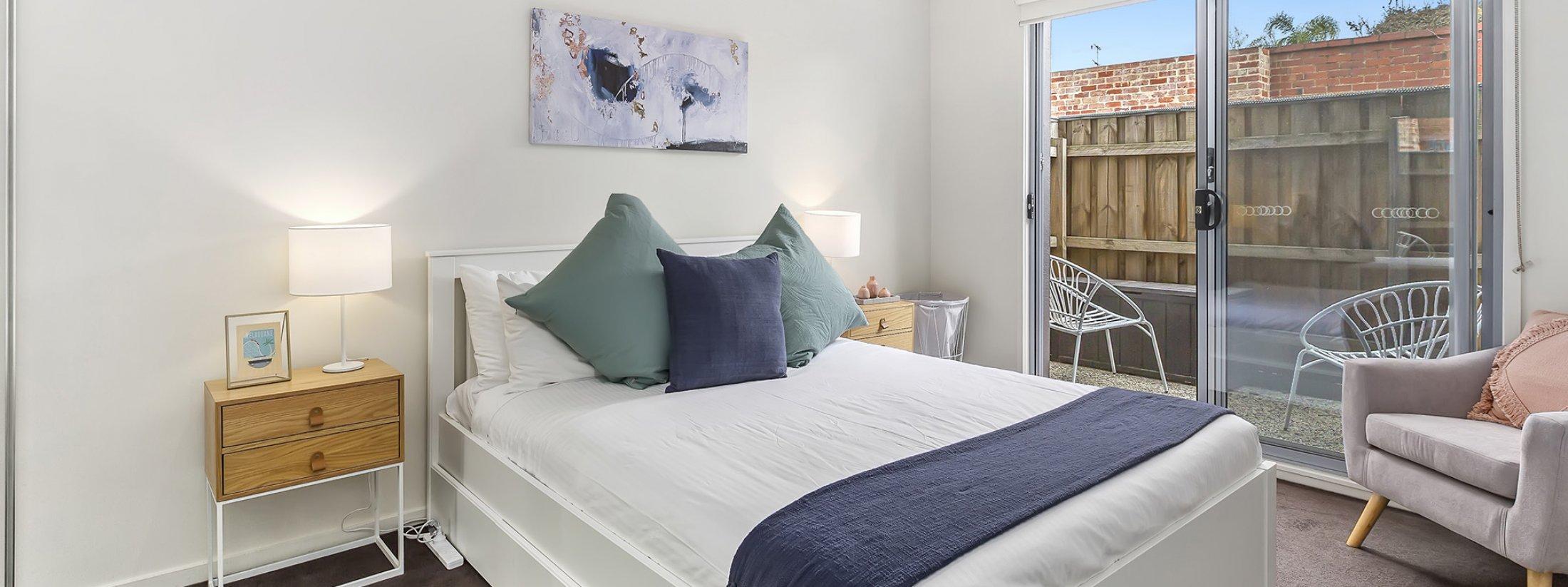 The Lansdowne - St Kilda - Main Bedroom
