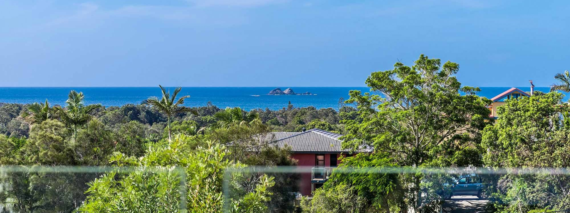 The Lookout - Byron Bay - View to Julian Rocks