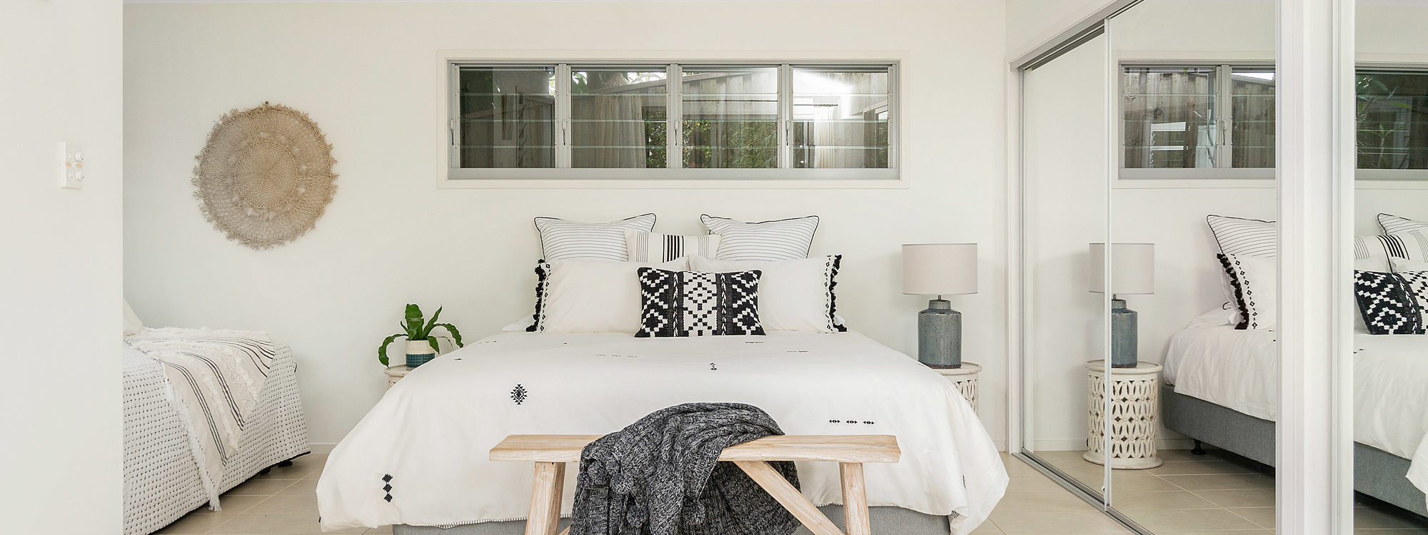 The White Rabbit - Byron Bay - Studio Bedroom