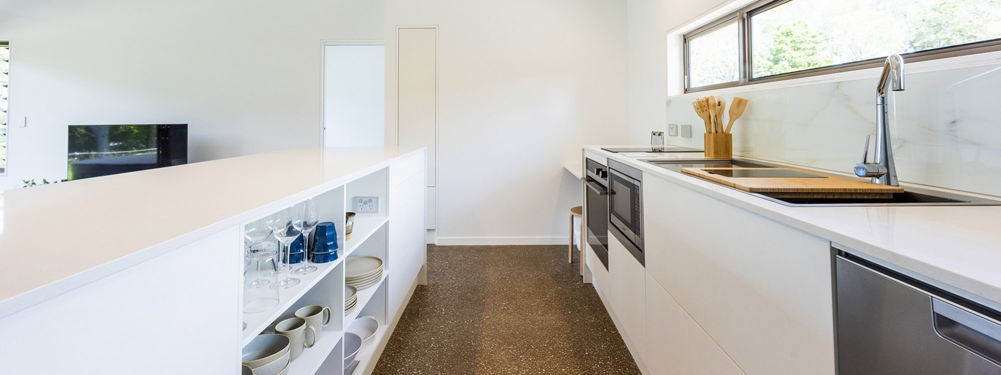 Toad Hall Cottage - Lennox Head - Kitchen Gallery