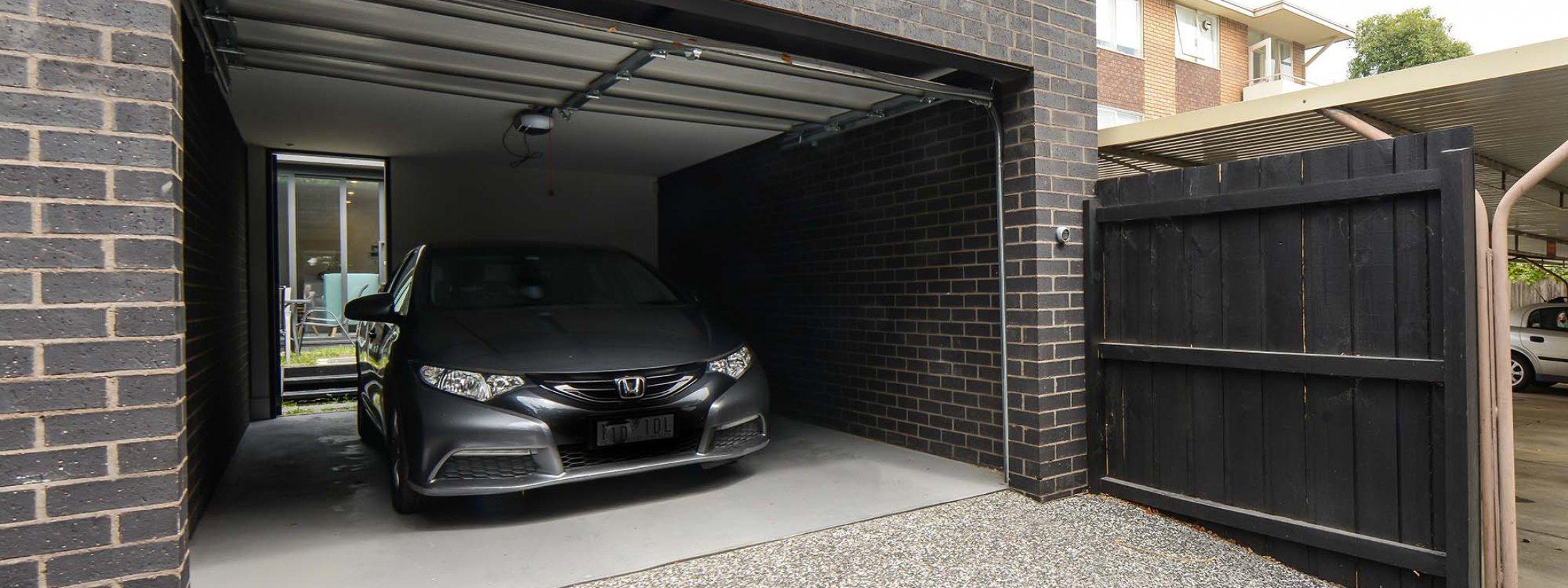 Victoria Road - Hawthorn - Garage