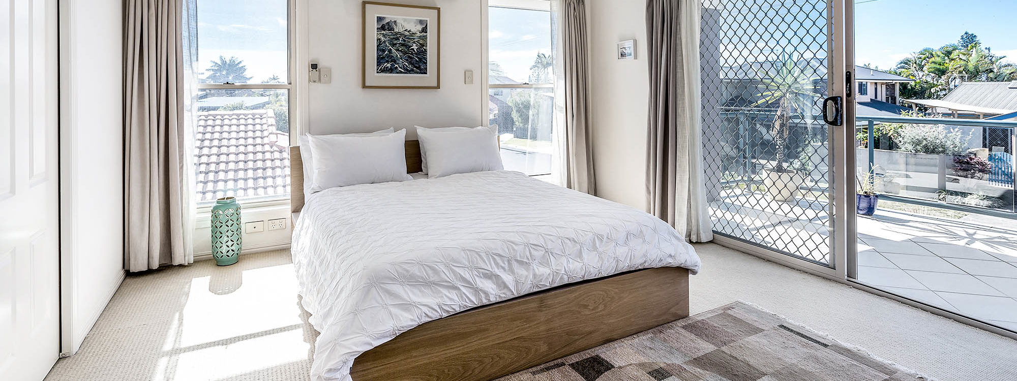 Wave Haven - Lennox Head - Main Bed b