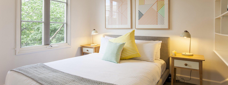 Wellington Mews - East Melbourne - Bedroom