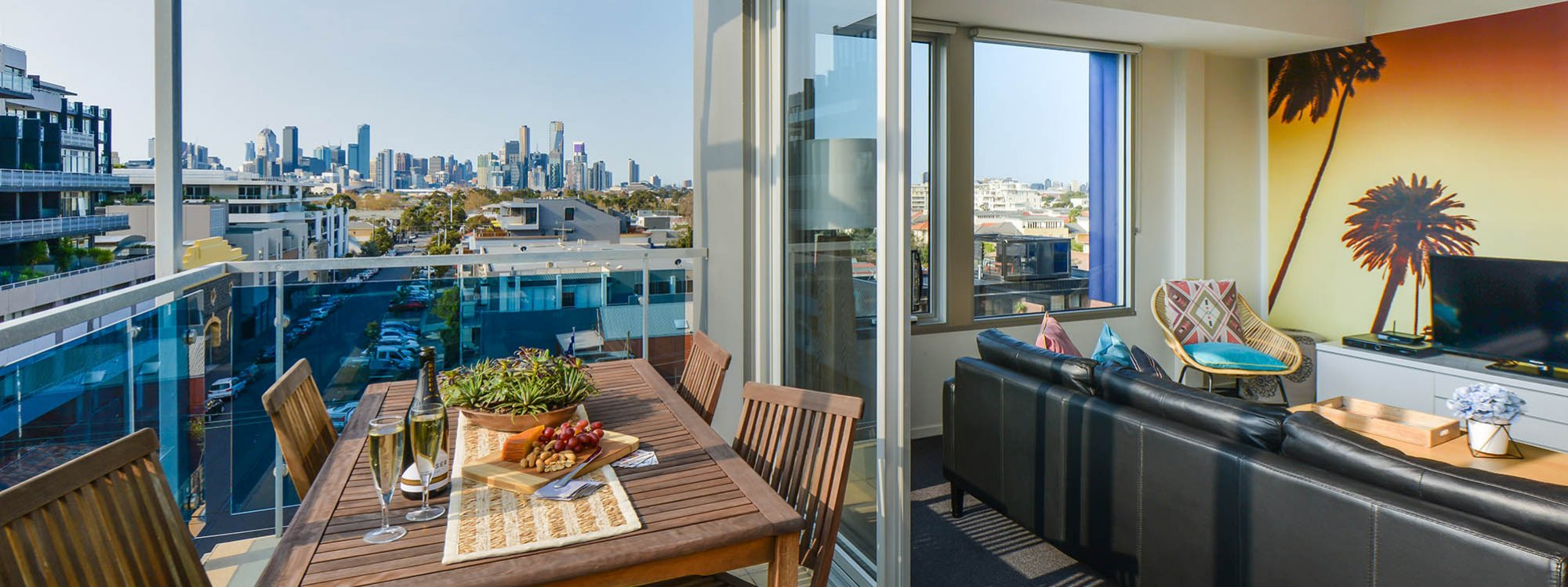 Zinc Views 501 - Port Melbourne - Balcony