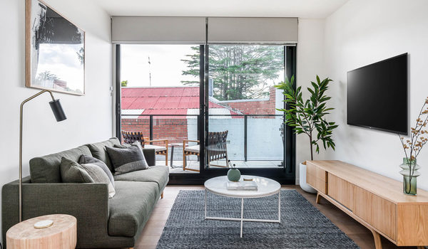 Axel Apartments - The Grove - Glen Iris - Lounge TV