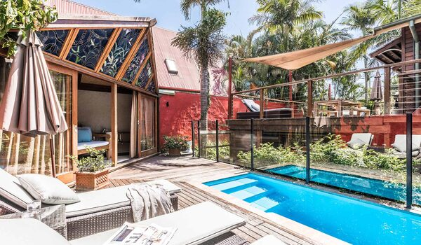 Byron Blisshouse - Byron Bay - Penthouse - Pool and Cabana d