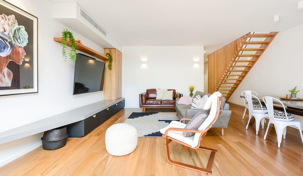 Gigis Place - South Melbourne - Living Room Area