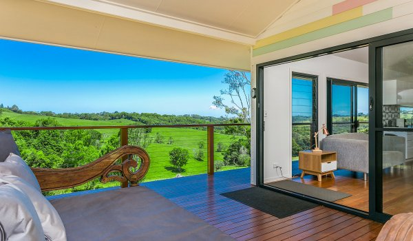 Coorabell Cottages - Rainforest Cottage - Outdoor Setting