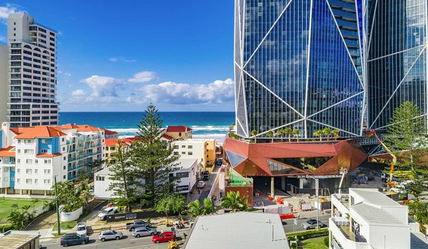 Lazy Dayz - Surfers Paradise - Aerial Location Shot c
