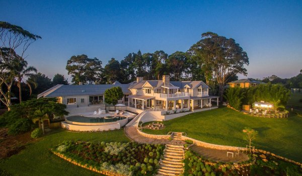Picadilly House - Byron Bay - Aerial Front of the House